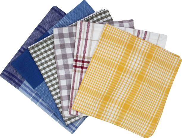 Flipkart SmartBuy Cotton Checks Napkins S6 Multicolor Napkins