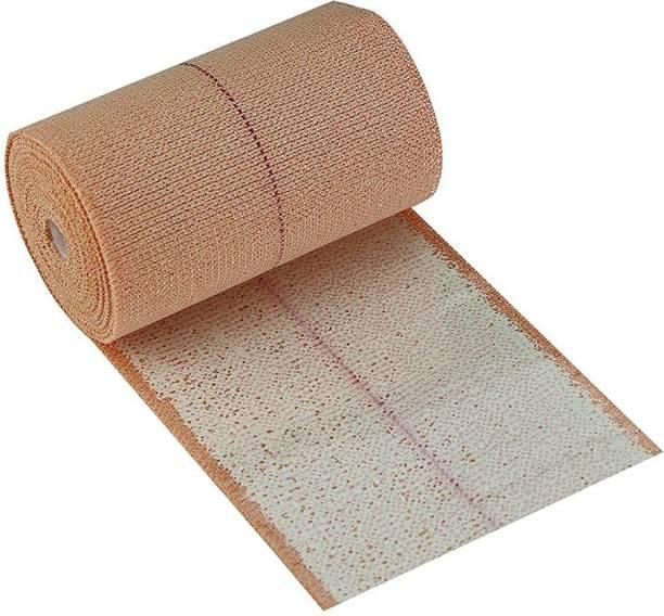 ZMR OVERSEAS ELASTIC ADHESIVE BANDAGE FLASH COLOURE, FAST EDGES WITH EXTRA POROUS 6*4\6 METER Crepe Bandage