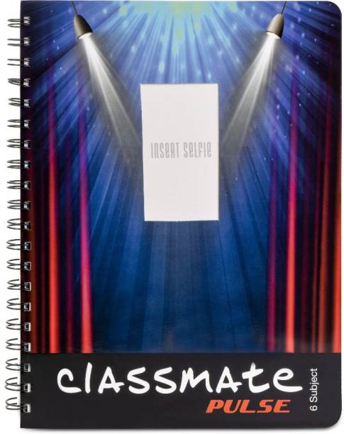 Classmate Pulse A5 Notebook Single Line 300 Pages