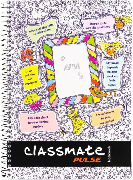 Classmate Pulse A4 Notebook Single Line 180 Pages