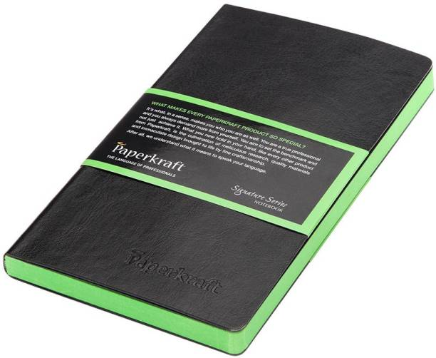 Paperkraft Signature Series C6 Notebook Unruled 160 Pages