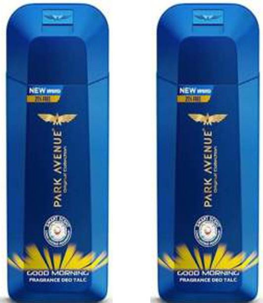 PARK AVENUE GOOD MORNING Deo TALC 100g × 2 Pack Of Two