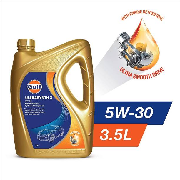 Gulf Ultrasynth X SAE 5W-30 - [3.5 L] - Pack Of 1 Full-Synthetic Engine Oil