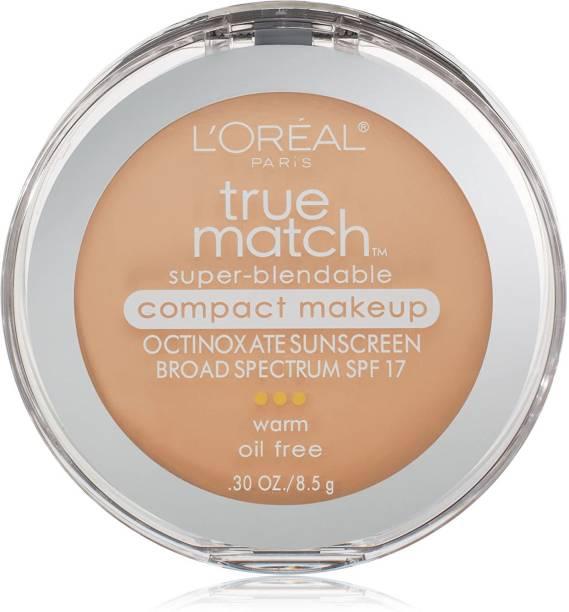 L'Oréal Paris True Match Super-Blendable Compact Makeup, Light Ivory, 0.3 Oz. Foundation