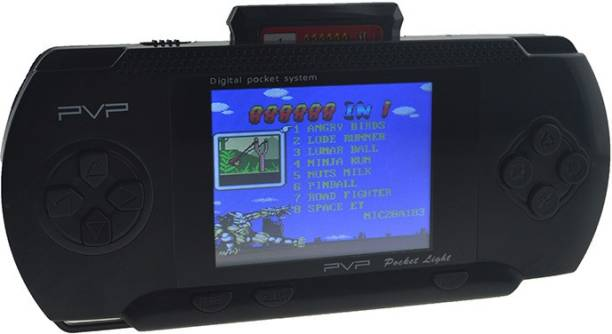 """Cyxus 4G PVP BLACK COLOR GAMING CONSOLE WITH 2.8"""" LCD DISPLAY-PVP-99EW3 1 GB with Mario 1st, Mario 2nd"""