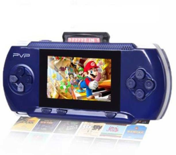 Cyxus 4G PVP BLUE COLOR FULL COLOR LCD SCREEN 1N-1003 GAMING CONSOLE 1 GB with 88888 IN 1, 77777 IN 1