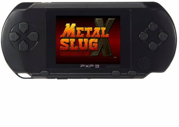 """Cyxus 4G PVP BLACK COLOR GAMING CONSOLE WITH 3D SOUND & 2.8"""" LCD DISPLAY PVP-BK-992 2 GB with Mario 1st, Mario 2nd"""