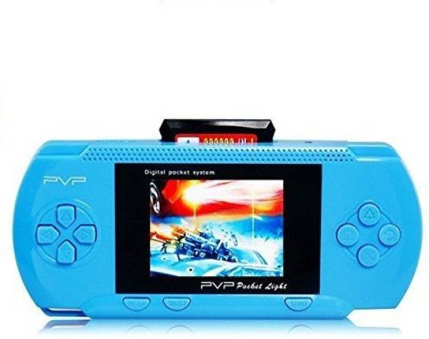 """Cyxus 4G PVP BLUE COLOR GAMING CONSOLE WITH 3D SOUND & 2.8"""" LCD DISPLAY 1 GB with 88888 IN 1, 77777 IN 1"""