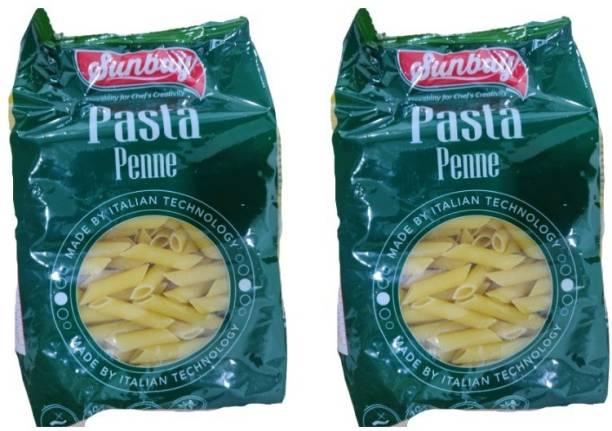 Sunbay Penne pasta (pack of 2) (1Kg) Penne Pasta
