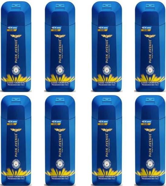 PARK AVENUE GOOD MORNING Deo TALC 100g × 8 Pack Of Eight