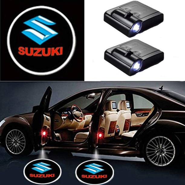AutoBizarre Wireless Logo Door Shadow Light/Ghost Light For All Cars (works with all cars) Car Fancy Lights