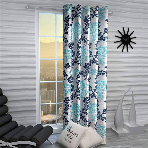 WEAVERS VILLA 150 cm (5 ft) Polyester Window Curtain Single Curtain