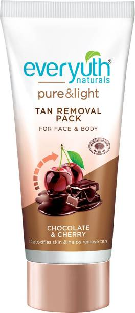 Everyuth Naturals Pure and Light Tan Removal Pack