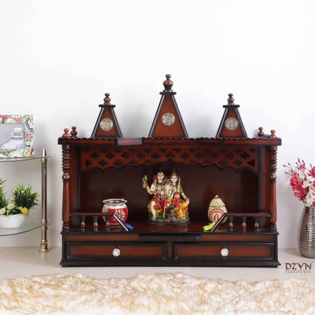 DZYN FURNITURES Solid Wood Home Temple