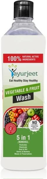 Ayurjeet VEG FRU WASH Vegetable and Fruit Cleaner
