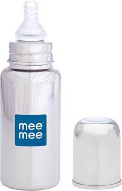 MeeMee Premium Steel Feeding Bottle - 240 ml