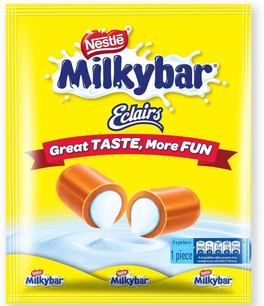 Nestle Milky Bar Eclairs Milk Chocolate Toffee