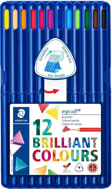 STAEDTLER Ergosoft Triangular Shaped Color Pencils