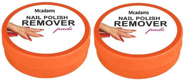 McAdams Nail Paint Remover Wipes with Fruity