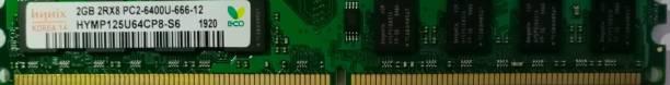 Hynix 800MHZ DDR2 2 GB (Single Channel) PC DDR2 (Desktop 800)
