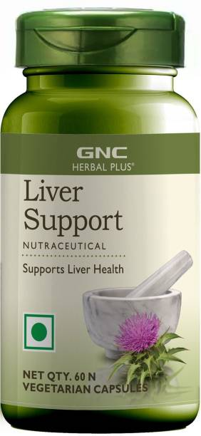 GNC Herbal Plus Liver Support - Contains Milk Thistle Seed Extract 500 mg