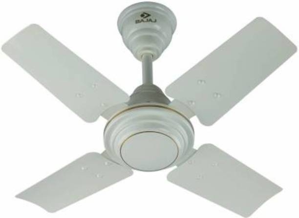 BAJAJ Maxima 600 mm White Ceiling Fan High Speed fan 600 mm 4 Blade Ceiling Fan
