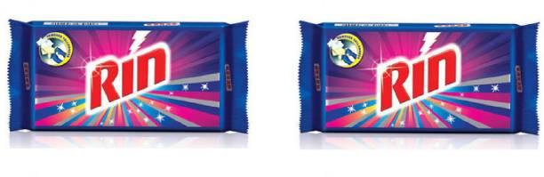 Rin Detergent Bar - 250 gram , Pack of 2 Detergent Bar