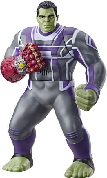 MARVEL Avengers: Endgame Power Punch Hulk 13.75-Inch Action Figure