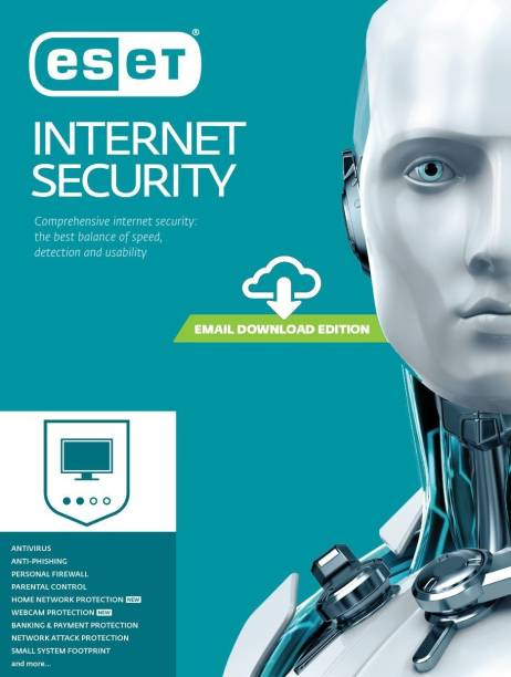 ESET 1 PC 1 Year Internet Security (Email Delivery - No CD)