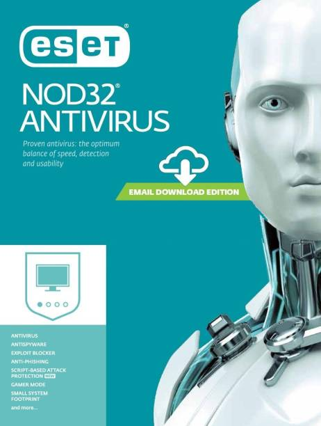 ESET 1 PC 1 Year Anti-virus (Email Delivery - No CD)