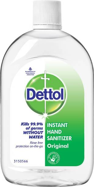 DETTOL Instant  Hand Sanitizer Bottle