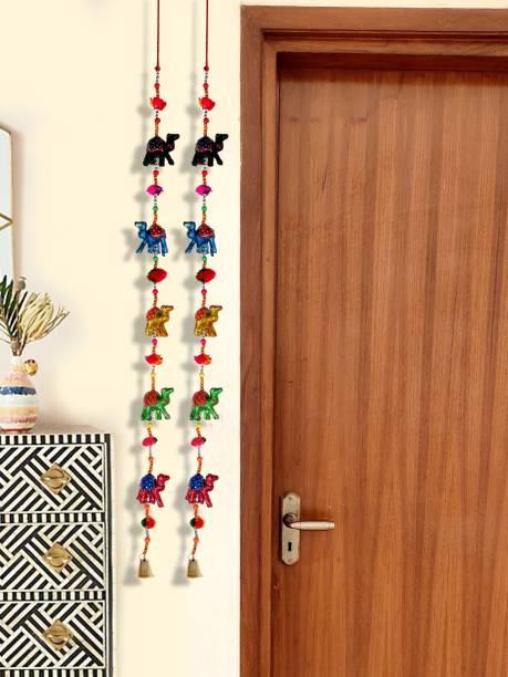 DreamKraft Rajasthani Camel Door Hanging Toran Toran