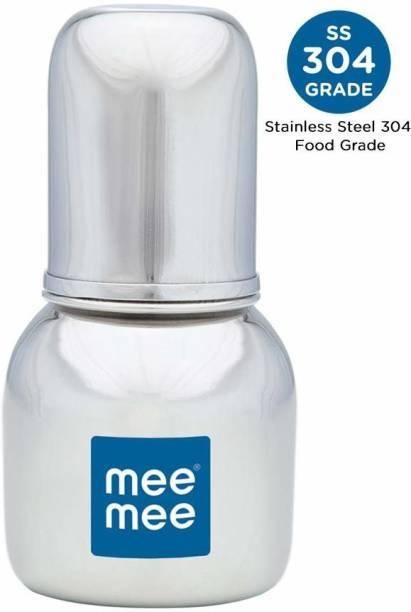 MeeMee PREMIUM STEEL FEEDING BOTTLE 120ML - 120 ml