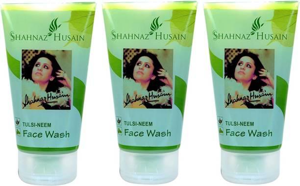 Shahnaz Husain Tulsi-Neem 50 Gm ( Pack of 3 ) Face Wash