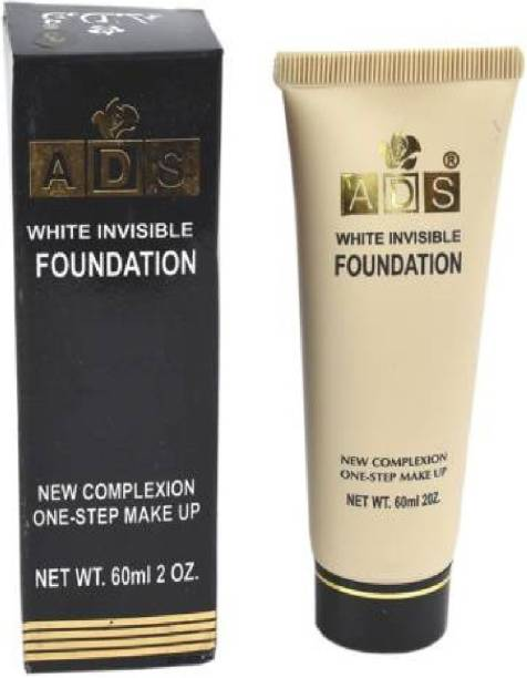 ads White foundation & concealer with SPF 15 ( instant whitening effect)  Foundation