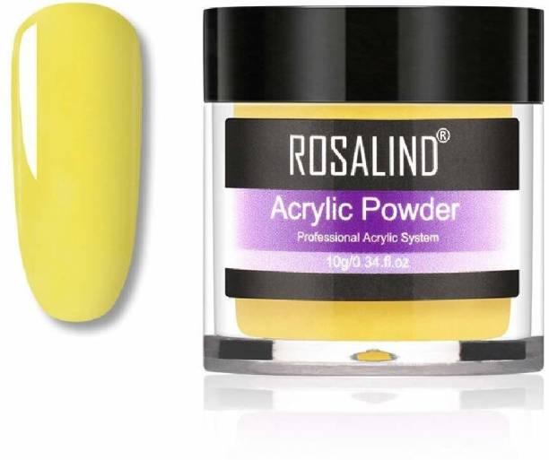ROSALIND Acrylic Powder Crystal Nail Art Tips Builder Acrylic Nail Powder Manicure 10 g RAP_206_10g