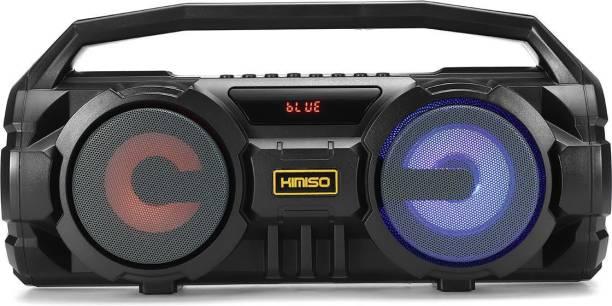 fiado bluetooth 5.0 stereo bass colourful LED light karaoke 20 W Bluetooth Speaker