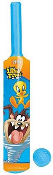 LOONEY TUNES Kids First Plastic Bat & Ball Cricket Kit