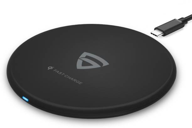 RAEGR RG10121 Arc 400 Type-C PD Qi-Certified 10W / 7.5W / 5W Fast Wireless Charger with FireProof ABS (No AC Adapter) Charging Pad