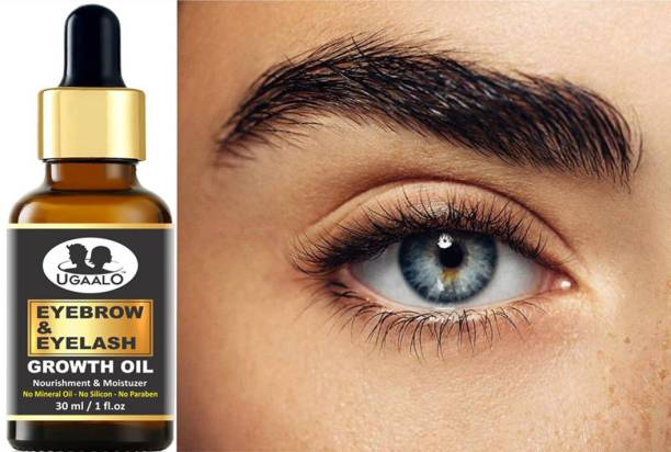 Ugaalo Eyebrow & Eyelashes Growth Oil-Enriched with Natural Ingredients- 30 ml