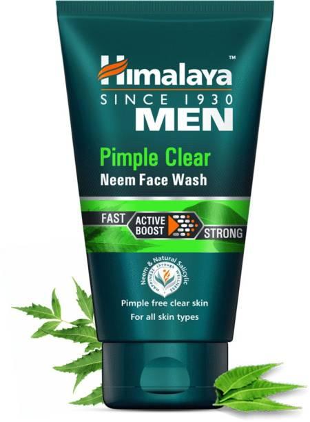 HIMALAYA Men Pimple Clear Neem , 50ml Face Wash