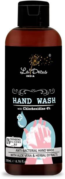 La'Decus Anti-Bacterial Hand Wash 200 ml Hand Wash Bottle