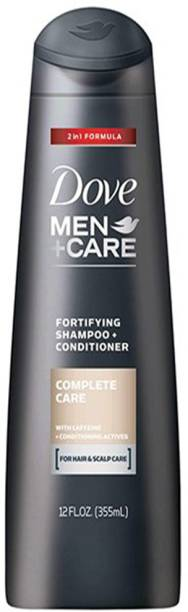 DOVE Men+Care 2 in 1 Shampoo and Conditioner Complete Care Fortifying( 355ml)