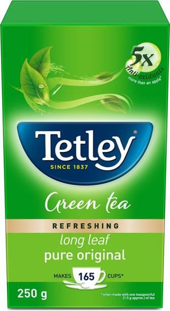 tetley Refreshing Pure Original Green Tea Box