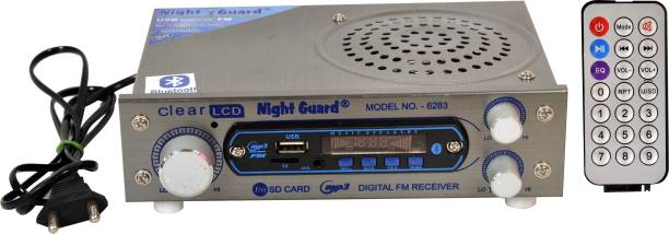 Night Guard NG Stockist AC/DC FM Radio Multimedia Speaker with Bluetooth, USB, SD Card, Aux FM Radio