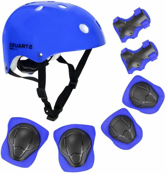 Strauss Kids Protective Gear With Adjustable Ring Skating Kit