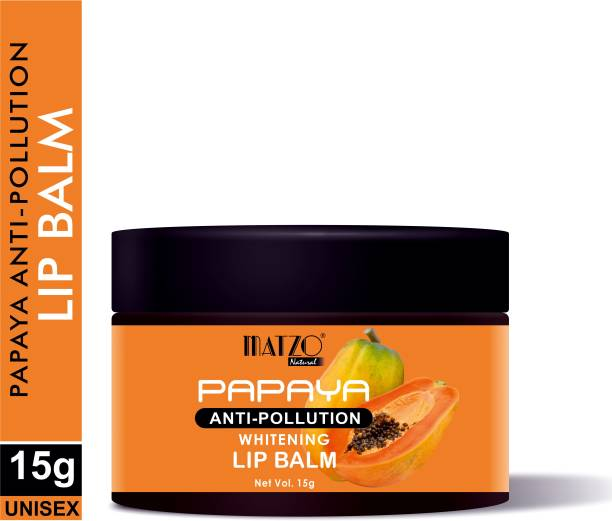 Matzo Natural Papaya Anti-pollution and Whitening Lip Balm Papaya