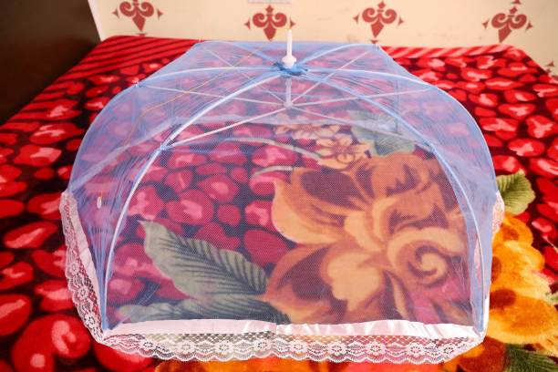 Dhuloom Polyester Infants Baby Mosquito Net 6 stick Big Size Mosquito Net