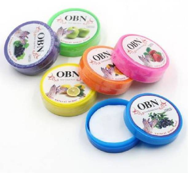 OBN Nail Polish Remover Pads, Wet Wipes (Nail Paint Reducer) Pack Of 6 (192 g)