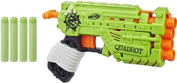 Nerf Zombie Strike Quadrot Guns & Darts